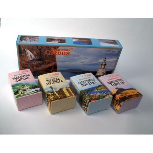 Крымские травяные чаи для подарка