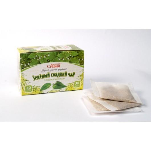 Зеленый чай со стевией и мелиссой